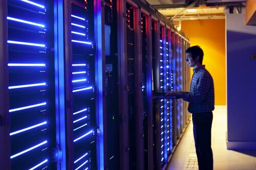 configuración de estructura, servidores